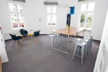 Der Workshop-Raum - 32 qm
