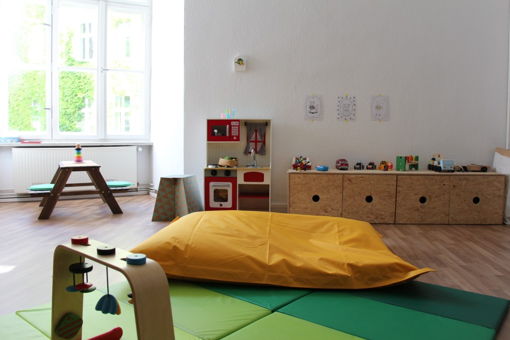 Kinderbetreuung Coworking Space