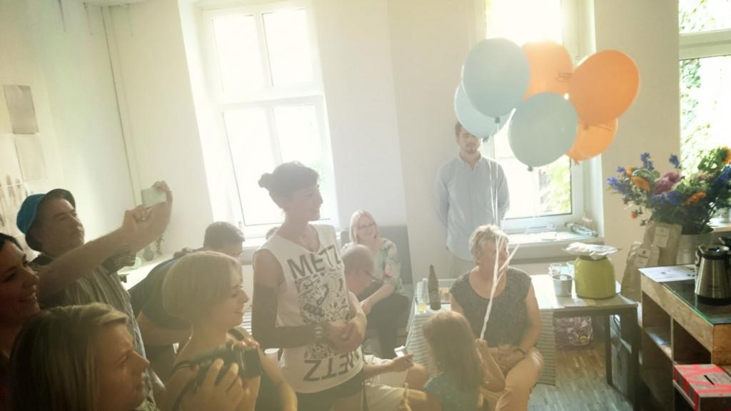 Eröffnung juggleHUB