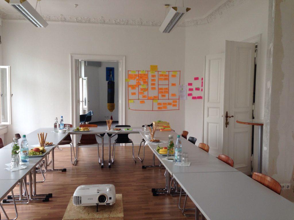 Konferenzraum juggleHUB