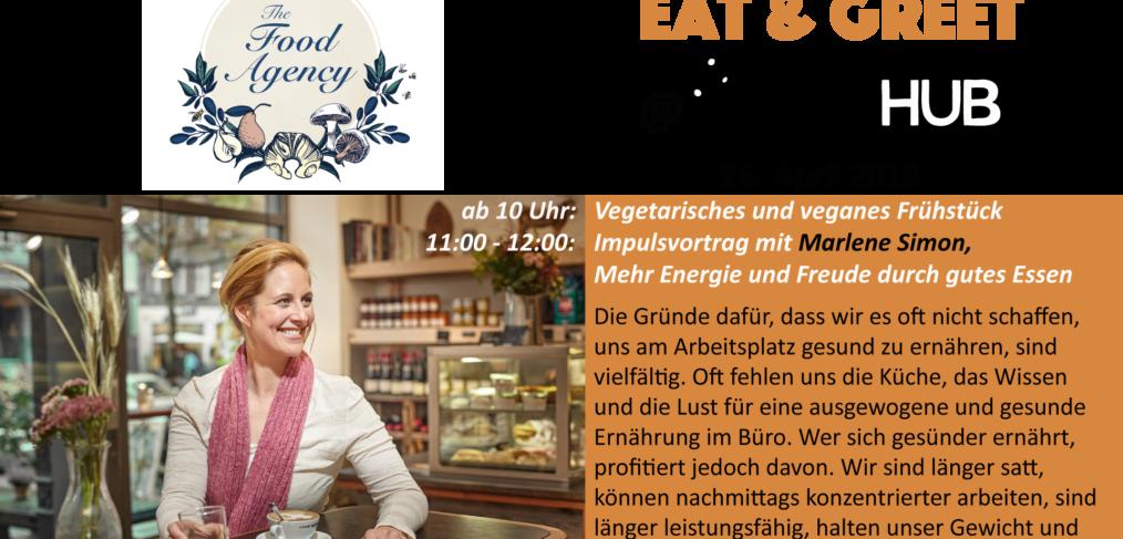 Eat & Greet im juggleHUB