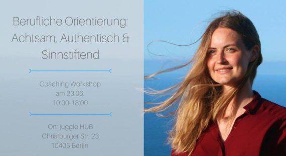 Workshop berufliche Orientierung