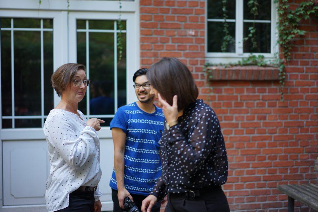 Fotoshoot mit Gründerinnen